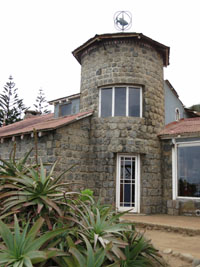 View of Isla Negra, Pablo Neruda home in chile